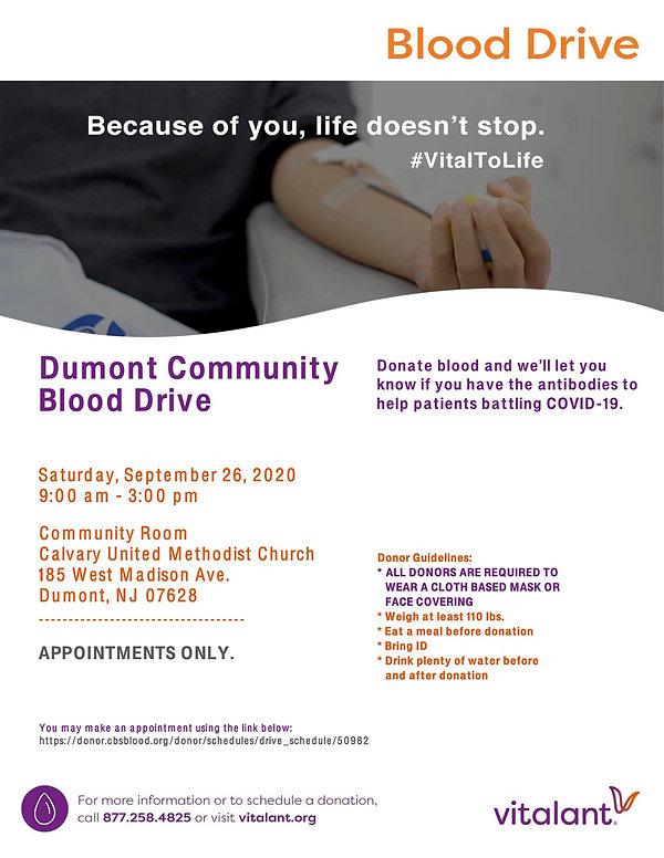 Dumont Community Drive (September_2020)