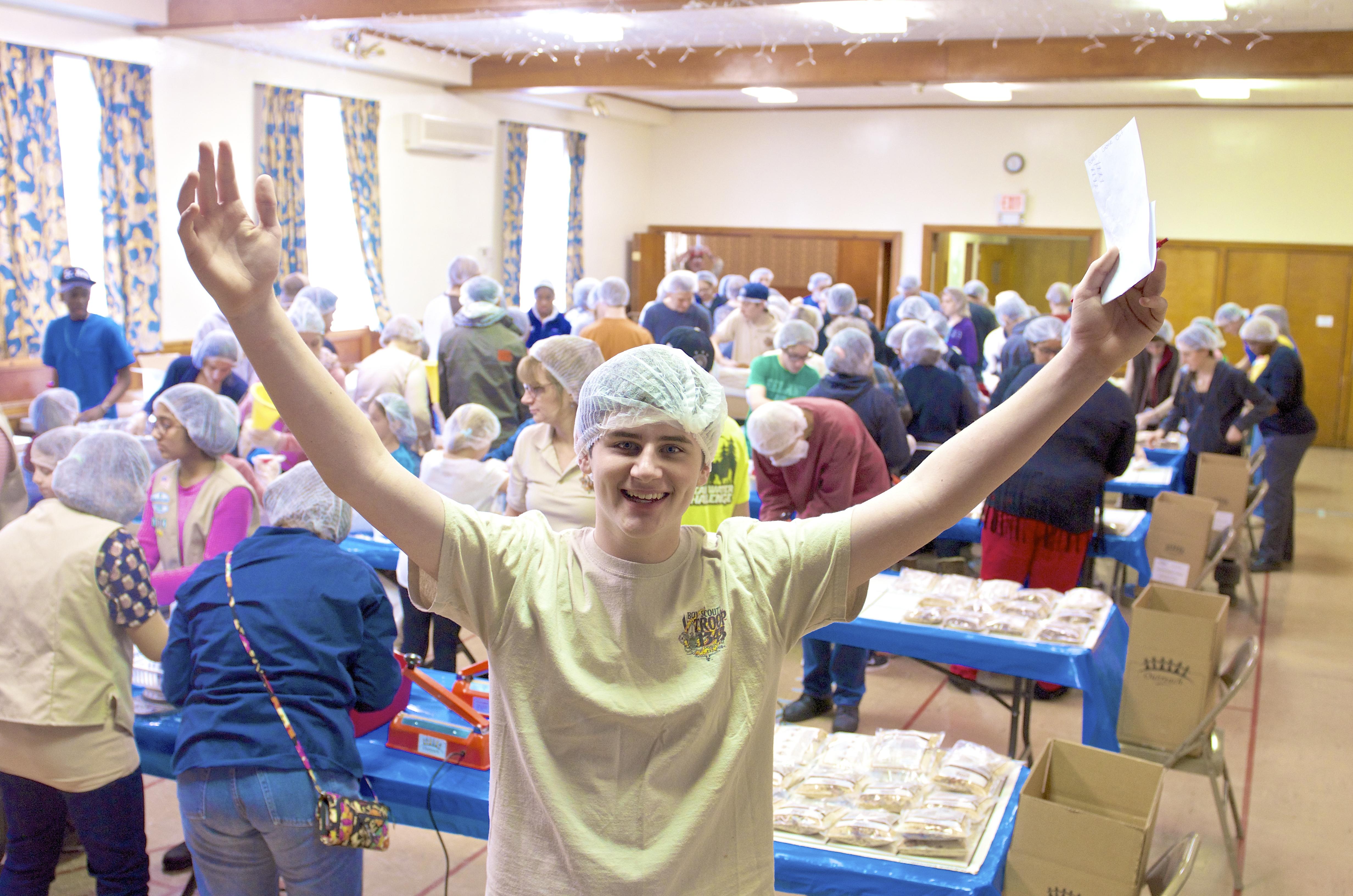 End Hunger organizer :Jack Zimmerman