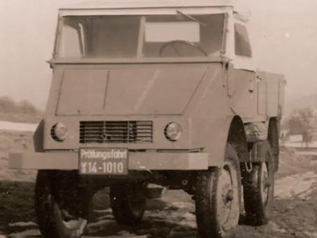 Mercedes-Benz comemora 70 anos da compra do projeto do Unimog