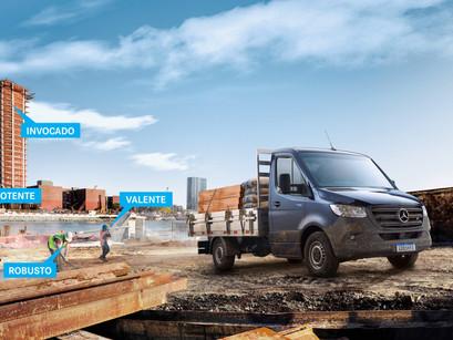 Revista Eu Amo Caminhão: Mercedes-Benz anuncia Sprinter Truck como melhor opção de caminhão urbano