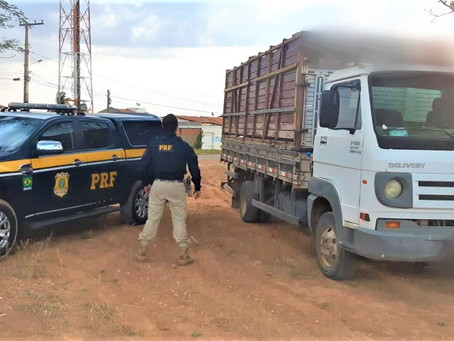 PRF recupera caminhão Volkswagen roubado há 10 anos