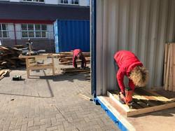 Making the Duckboards
