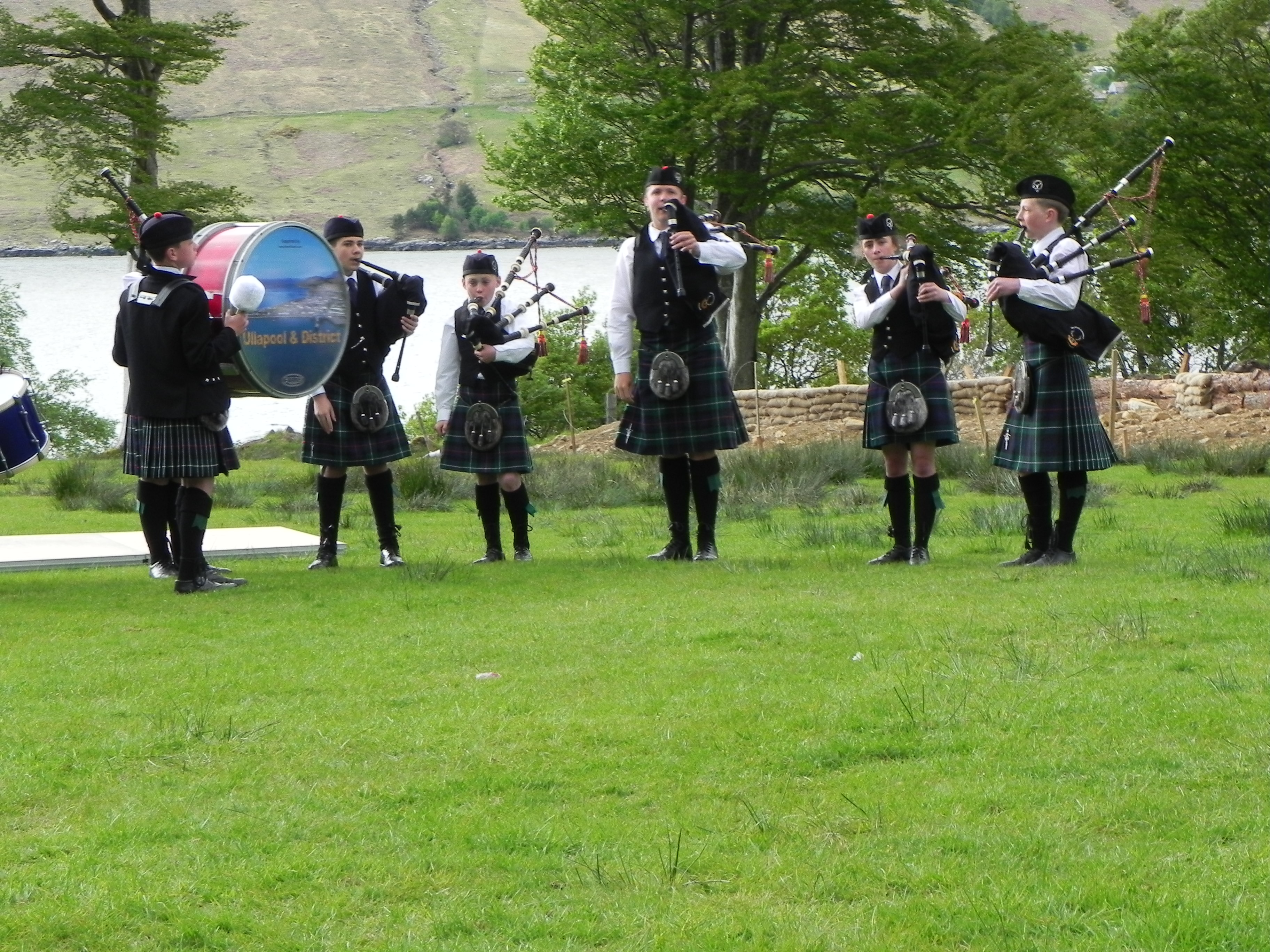 Ullapool Pipe Band