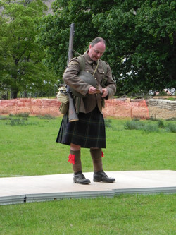 The Prayer of WW1 Soldier was read