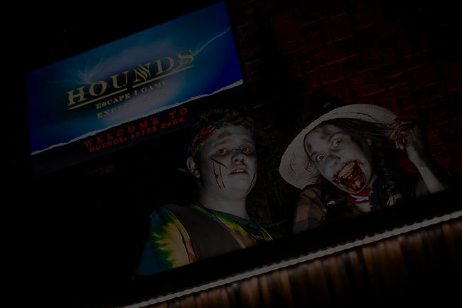 Hounds escape game experiences crawley west sussex after dark halloween 2021 escape room best 5 star rated
