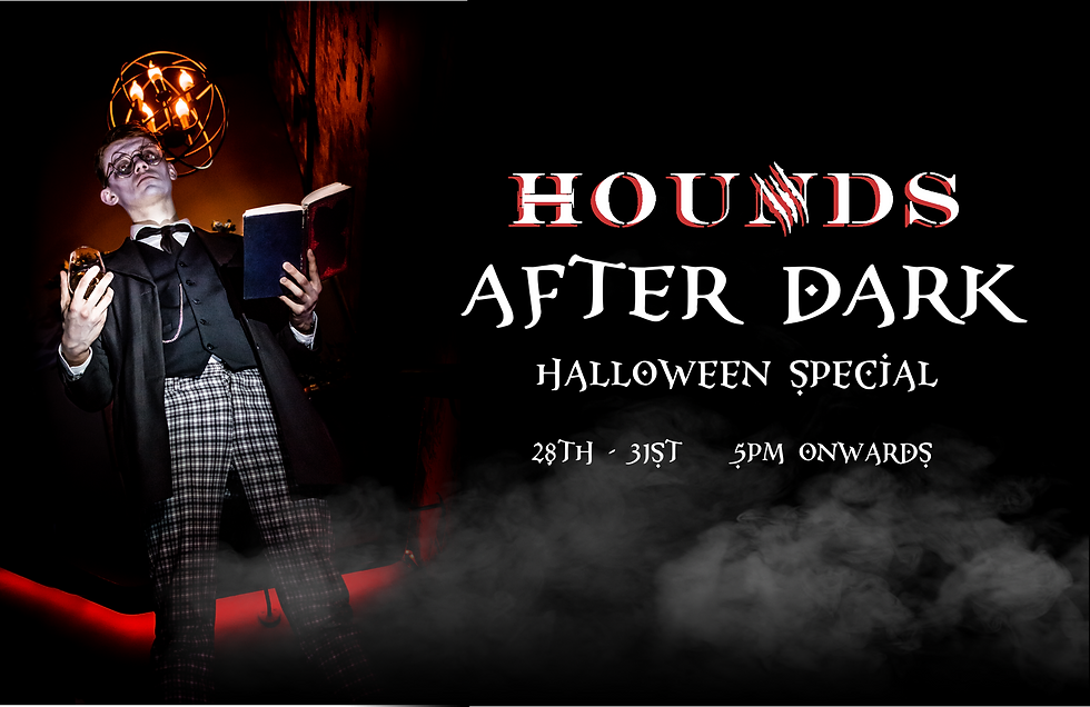Hounds escape game experiences crawley west sussex escape room 5 star rates after dark halloween 2021