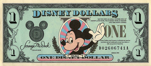 DISNEY DOLLARS - disney,wikia.com