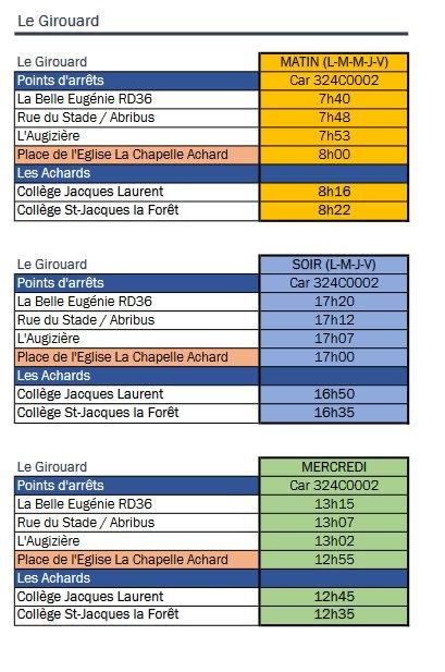 horaires_cars_collèges_les_Achards_2020