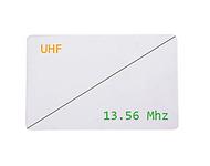 Badge Bi-fréquences - Hybrid 13,56MHz et UHF