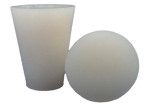 Silicone Bung - Solid 25/38