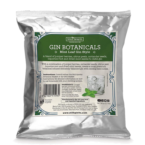 Still Spirits Gin Botanicals - Mint Leaf Gin Style