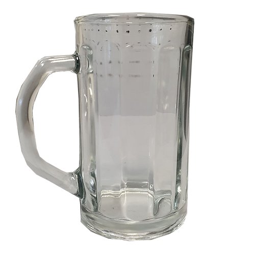 Glass Beer Stein - 660ml