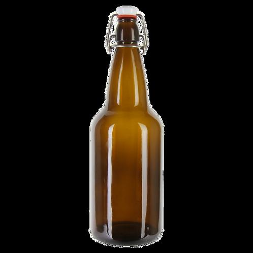 Flip Top Amber Bottle (500ml)