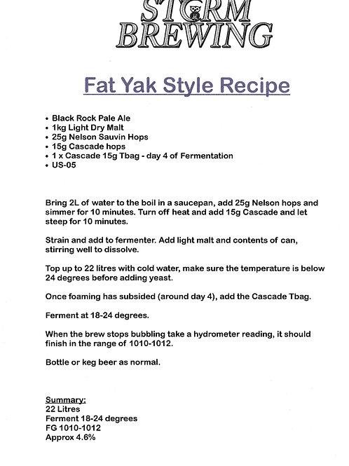 Fat Yak Style Recipe