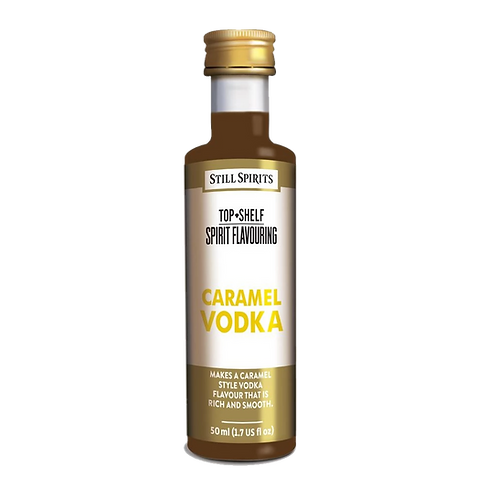 Still Spirits Top Shelf Spirits Caramel Vodka