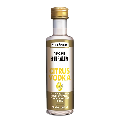 Still Spirits Top Shelf Spirits Citrus Vodka