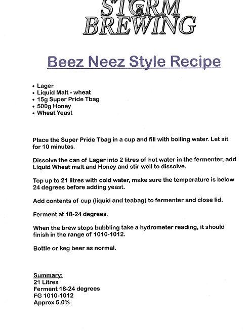 Beez Neez Style Recipe