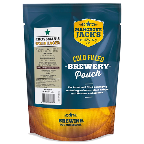 Mangrove Jacks Traditional Series Crossman's Gold Lager