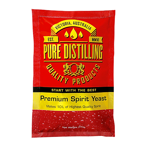 Pure Distilling Turbo Yeast