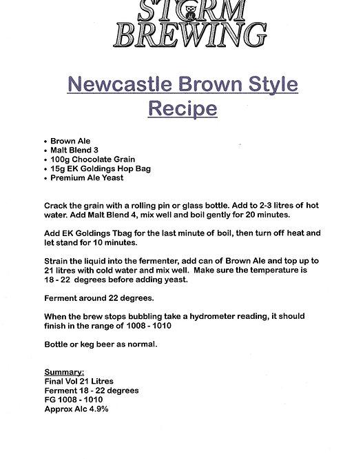 Newcastle Brown Recipe Kit
