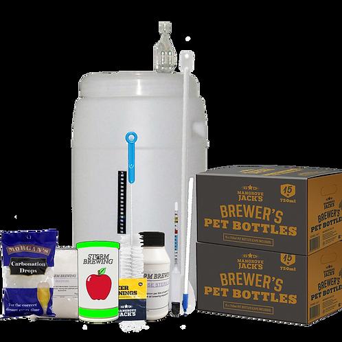 Cider Brewing Kit - Basic w/ Bottles