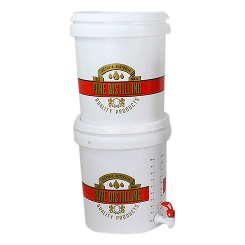 Pure Distilling Carbon Filter System