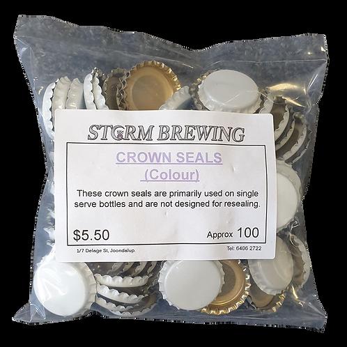 Crown Seals - Colour (100)