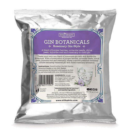 Still Spirits Gin Botanicals - Rosemary Gin Style