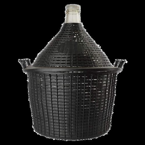 25L Demijohn & PVC Basket
