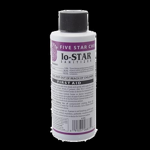 Io-STAR Iodine No-Rinse Steriliser (118ml)