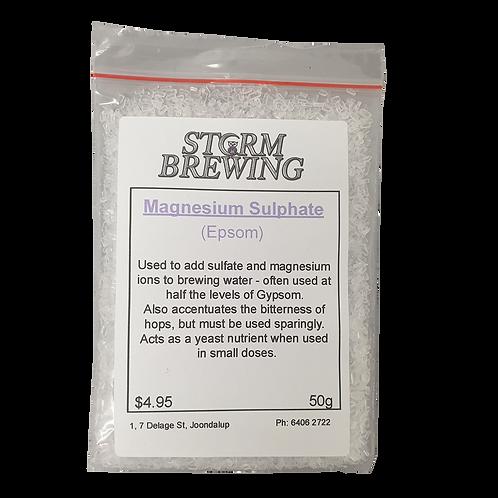 Magnesium Sulphate/Epsom Salts (50g)