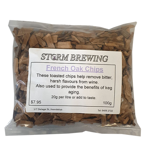 French Oak Chips (100g)