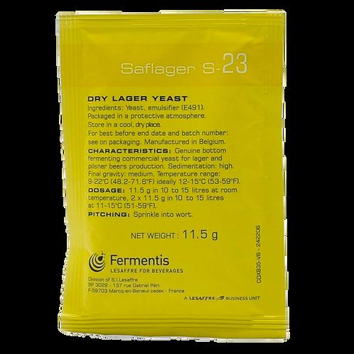 Fermentis Saflager Dry Lager Yeast S-23