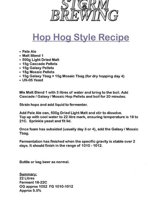Hop Hog Recipe Kit