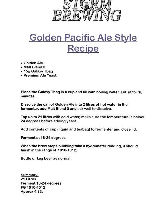 Golden Pacific Ale Recipe Kit