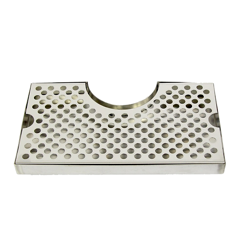 Drip Tray - Stainless Steel W/ Cutout