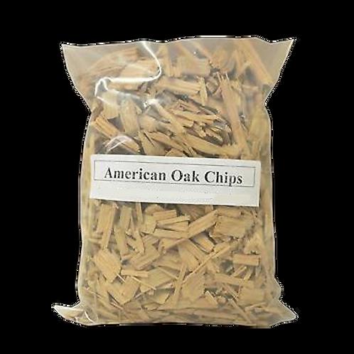 American Oak Chips (1kg)