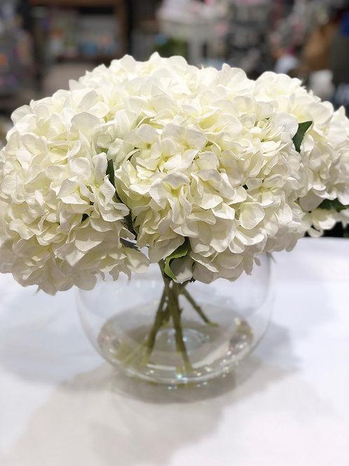 Hydrangea Sphere Vase
