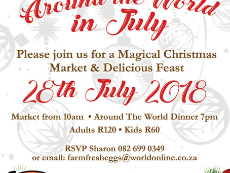 Christmas around the world in July