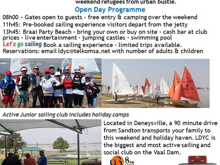 LDYC OPEN DAY - 20th October 2018