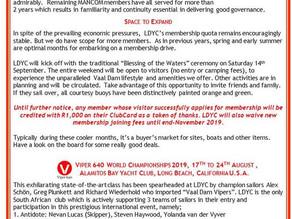 LDYC Newsletter July 2019