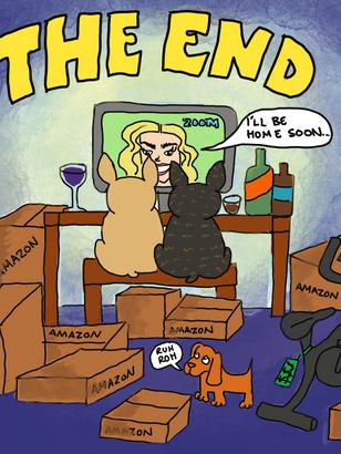 Heather & the Quarantine Pups_16