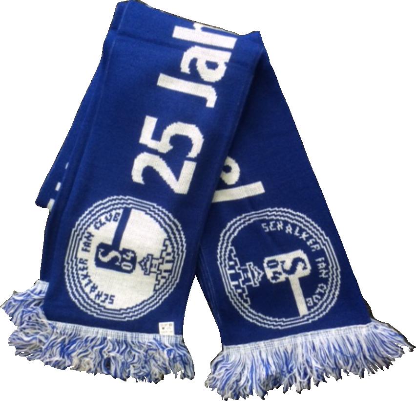 Fanschal Schalker Fan Klub Nienborger Kreisel