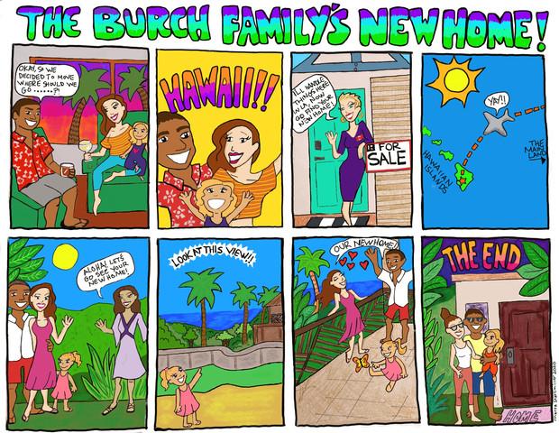 Burch New Move Comic Strip