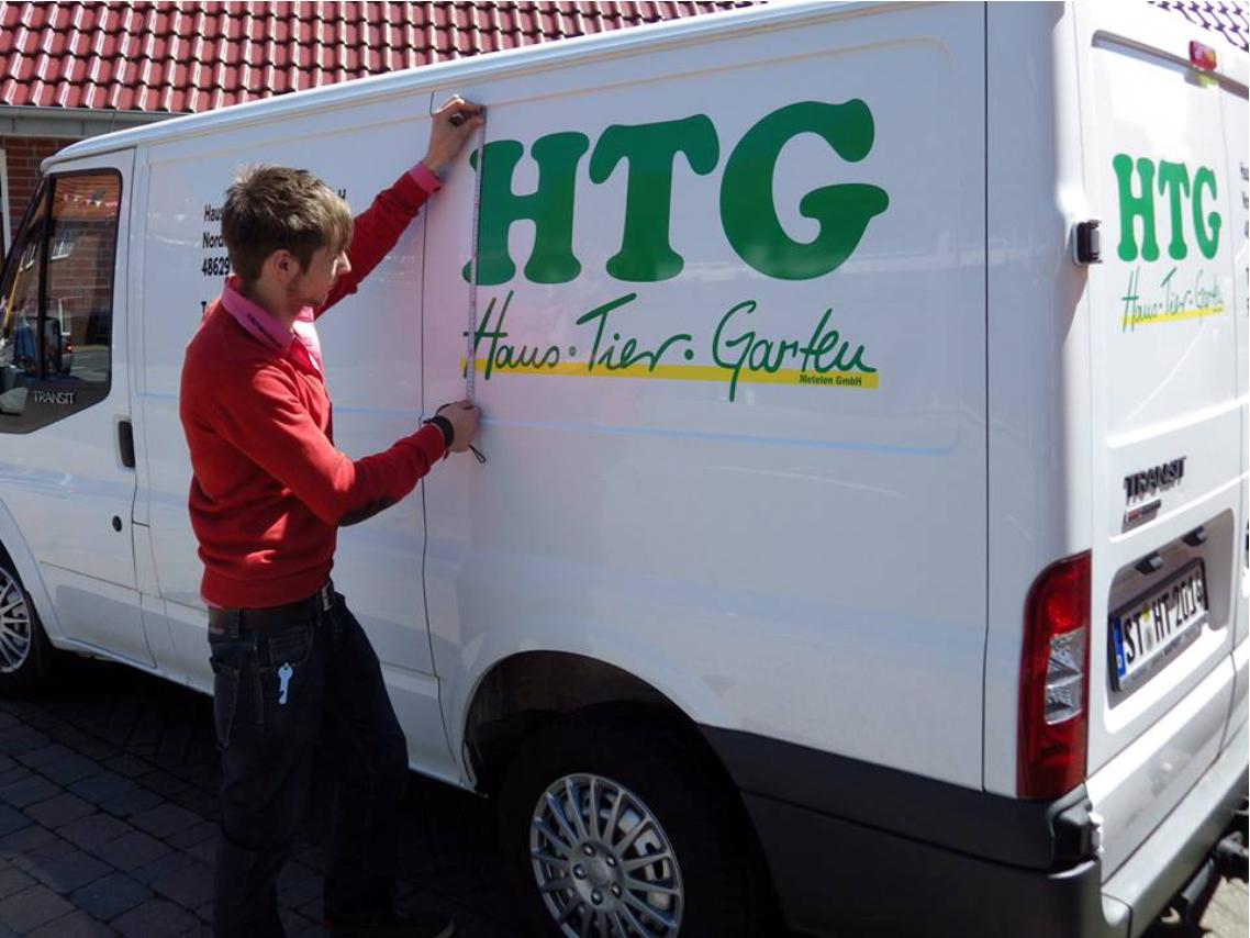 Fahrzeugbeschriftung HTG