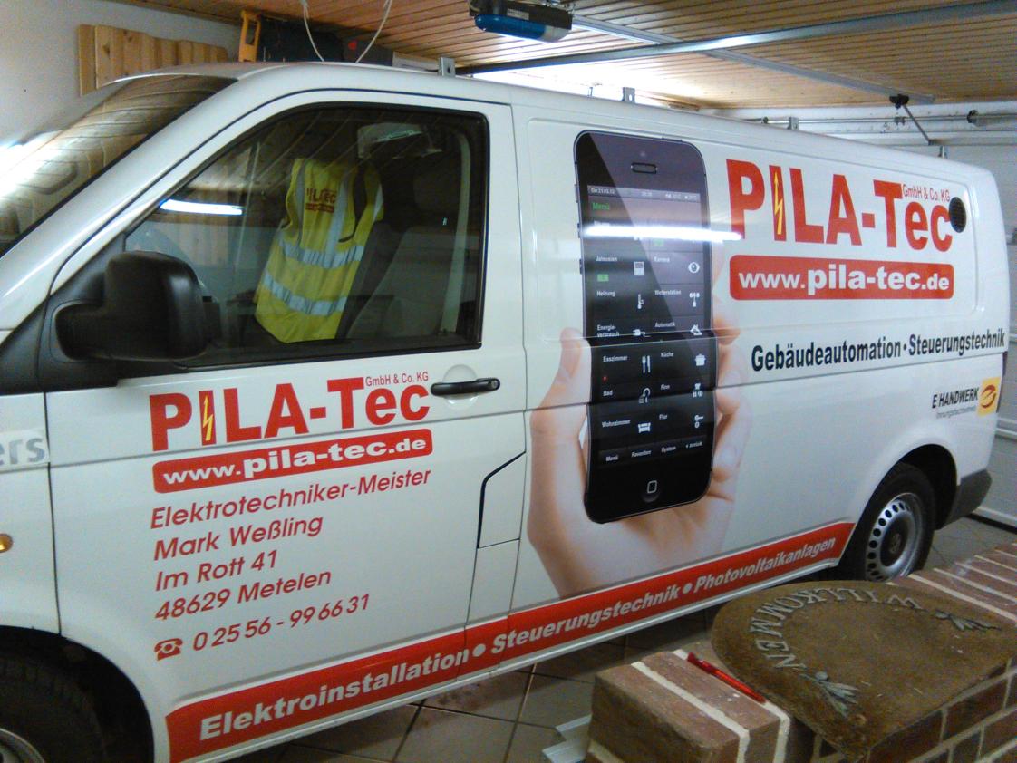 Fahrzeugbeschriftung PilaTec