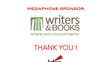 MEGAPHONE SPONSOR SPOTLIGHT: WRITERS & BOOKS