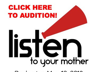 LISTEN TO YOUR MOTHER ROCHESTER AUDITION SIGN UP LINK IS LIVE!