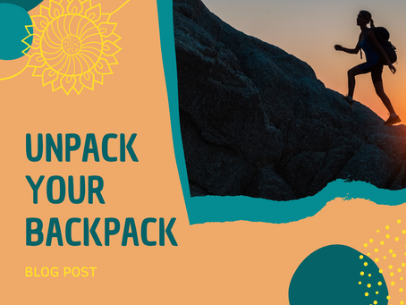 Unpack your backpack