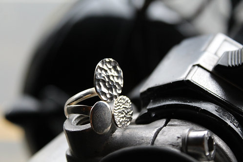 3 Bean Collection Ring